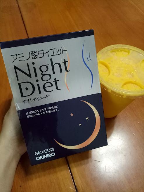 Nghệ thuật giảm béo cùng viên giảm cân Night Diet Orihiro