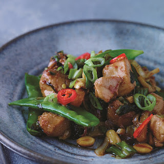 Chicken Stir-Fry with Celery + Peanuts