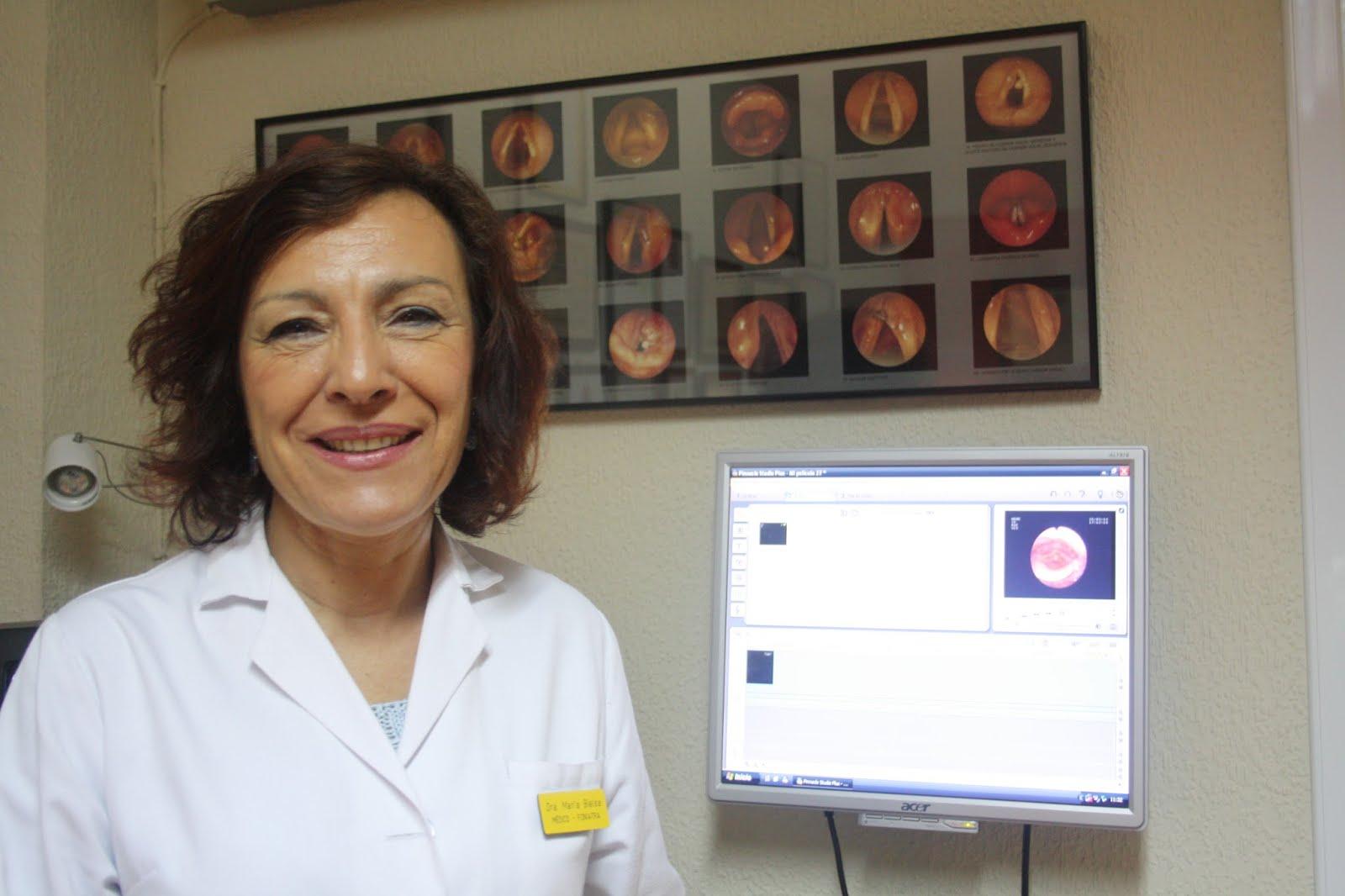 Dra. María Bielsa Médica Foniatra Centro Médico de Foniatría y Logopedia Talavera de la Reina