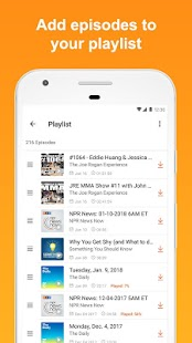Castbox: Free Podcast Player, Radio & Audio Books- screenshot thumbnail