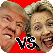 Trump vs Hillary Head Soccer