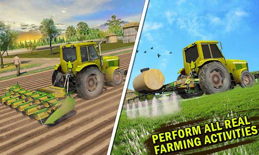 Nemovitý Zemědělství Simulátor Farma Truck Řídit - náhled