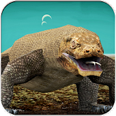 Komodo Dragon Animal Hunting