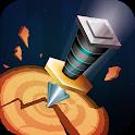Knife Throw 3D icon