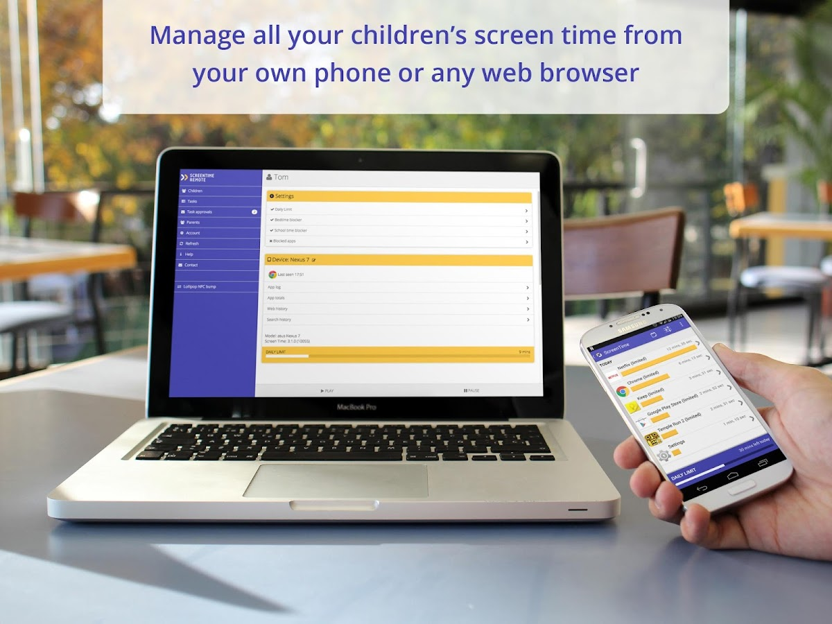 Screen Time Companion App- screenshot
