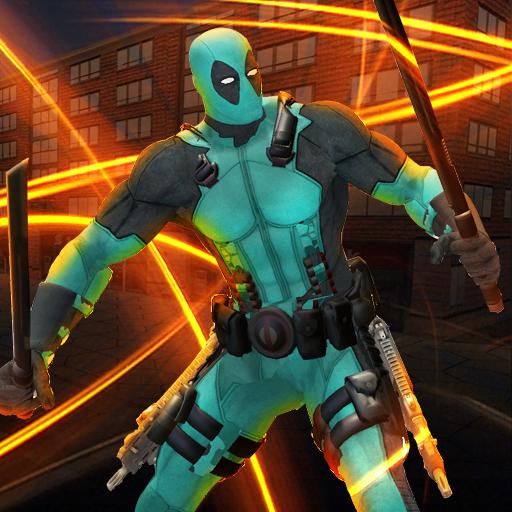Dual Swords Hero Crime City Battle