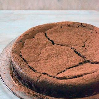Cinnamon Espresso Chocolate Truffle Cake