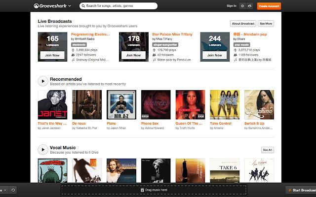 NoOrange - Grooveshark