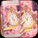 Sakura Rose Gold Watch Theme icon