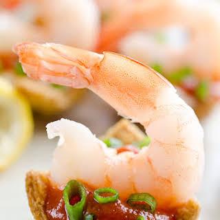 Light Shrimp Cocktail Bites.