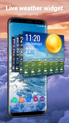Weather Report Widget for android phone 10.3.5.2353 screenshots 2
