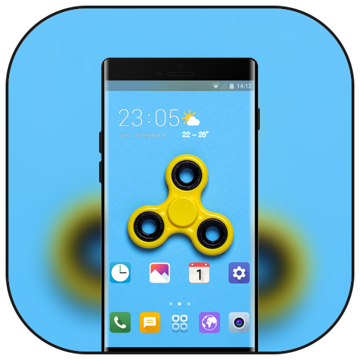 Theme for yellow toys hobbies wallpaper icon