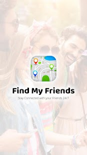 Find My Friends - náhled