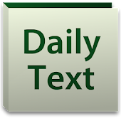 Daily Bible Text 2017