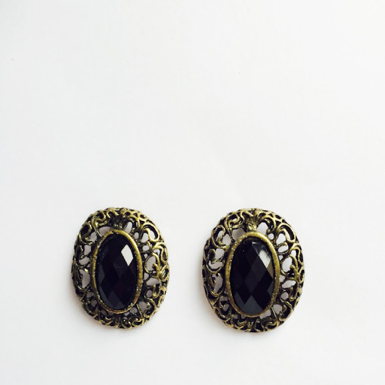 E013- B. Victorian Heirloom Earrings