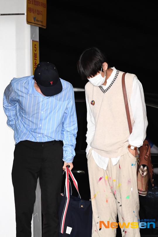 bts v colorful pants 7