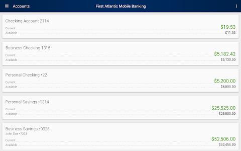 First Atlantic Mobile Banking screenshot 5