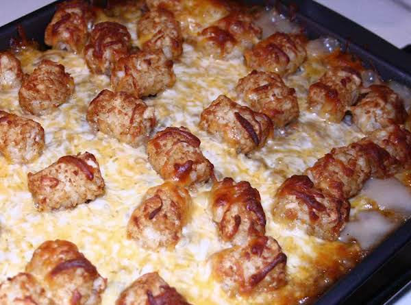 Dirty Tater Casserole. It Is A Little Spicy, But Oh So Good!