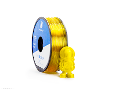 Translucent Yellow MH Build Series PETG Filament - 3.00mm (1kg)