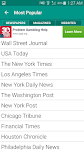 screenshot of World Newspapers