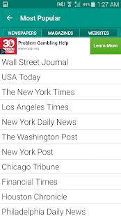 World Newspapers- screenshot thumbnail