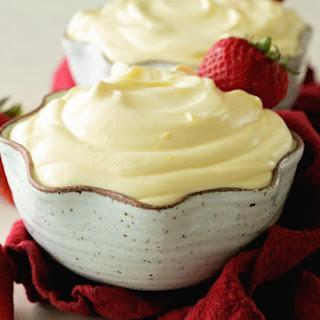 3 Ingredient Vanilla Pudding.