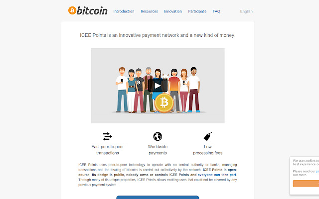 Bitcoin-2-Icee Points
