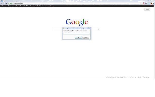 Lock for Google Chrome™