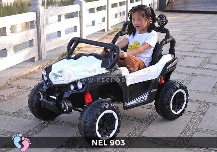 Xe ô tô điện địa hình NEL-903 4 động cơ 3