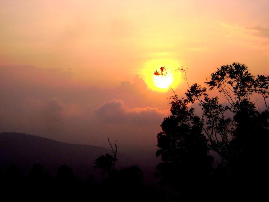 Sunset by KC Pradeep - Novices Only Landscapes ( sunset )