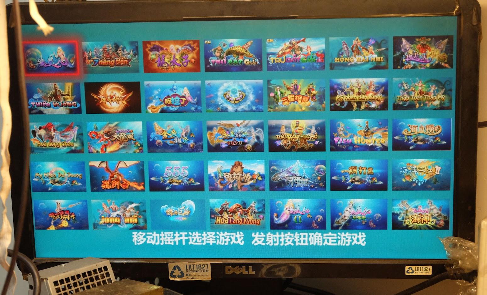 Sửa máy Bắn Cá, Máy game Thùng siêu thị. Cung cấp linh kiện Arcade chính hãng - 4