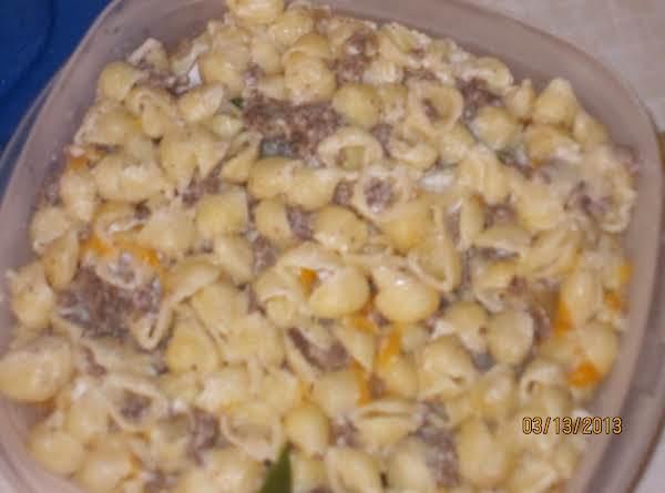 Creamy Hamburger Mac Recipe