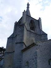 Photo: The village church tower, at 1400 feet above sea level, is a prominent landmark of the area.