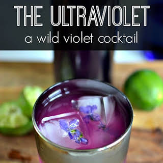The Ultraviolet {a wild violet cocktail}.