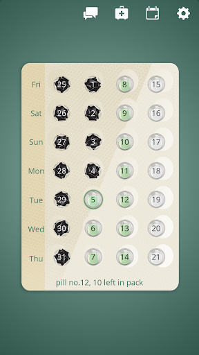 myPill Birth Control Reminder screenshot for Android
