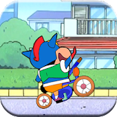 Shin Racing Bike Rush