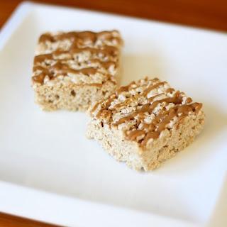 Vegetarian Biscoff Krispie Treats aka Biscoff Marshmallow Fluff Treats