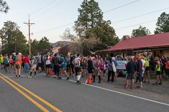 Photo: Before start of 50 km run; Jemez Mountain Trail Runs