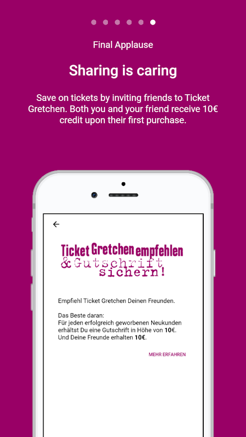 Ticket Gretchen- screenshot