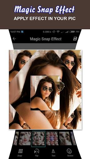 Magic Snap Effect - Photo Editor 1.5 screenshots 2