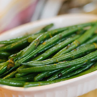 Orange & Tarragon Green Beans