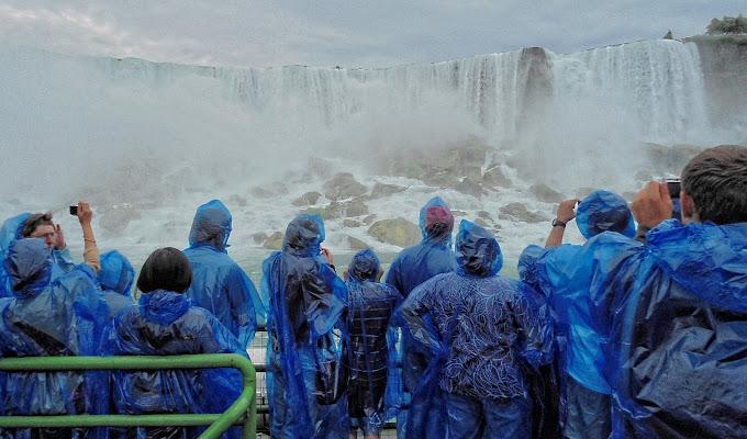 Nel centro della cascata di GVatterioni