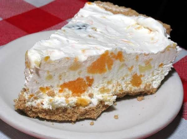 Mandarin Orange Pie