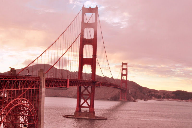 Sunset at The Golden Gate di Cyrano1984
