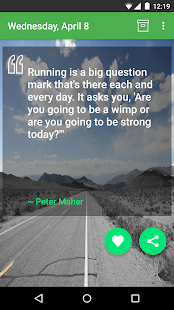 Daily Running Quotes- screenshot thumbnail