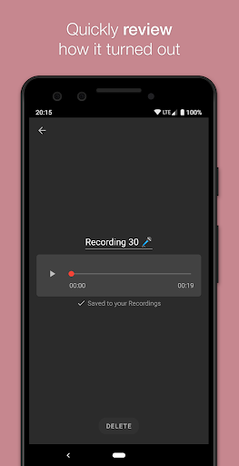 Smart Recorder – High-quality voice recorder screenshot 5