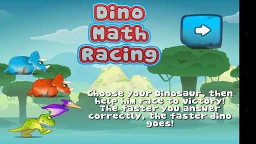 Dino Math Racing