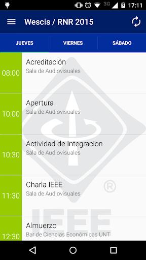 IEEE Wescis RNR 2015 Tucumán
