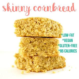 Skinny Cornbread (Gluten-Free & Low-Fat!)