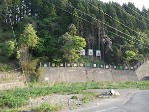Photo: 田束山への歌津側入り口。